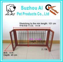Adjustable ondoor Solid Wood Construction Dog Gate