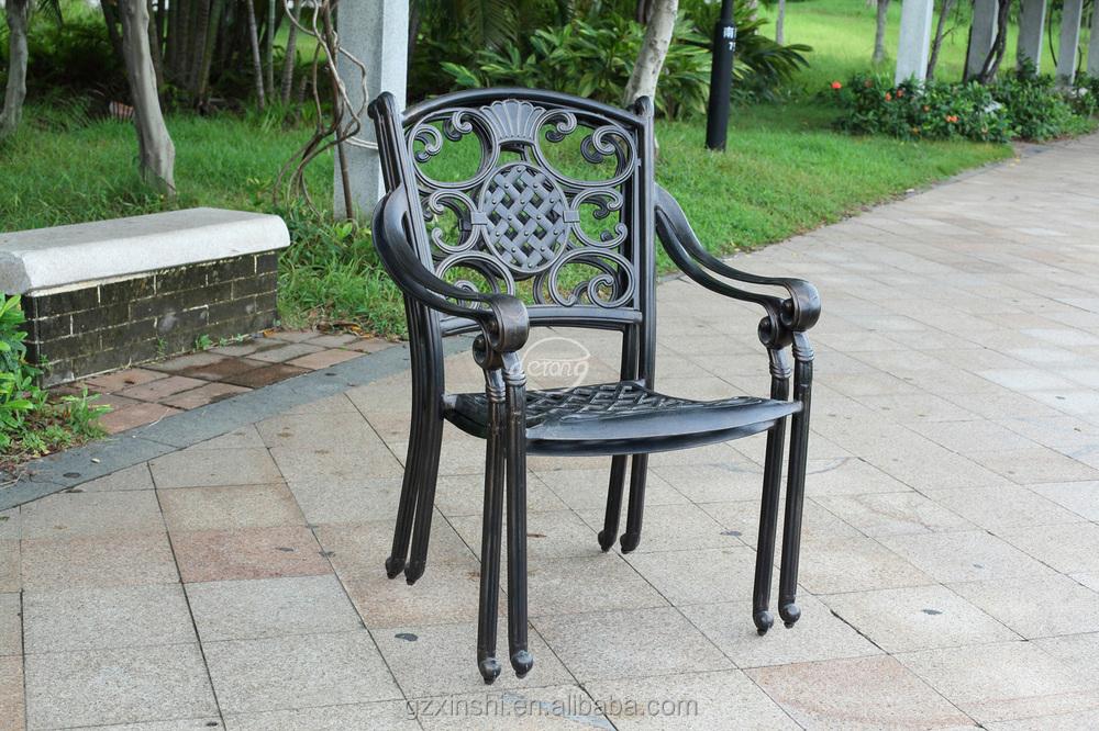 Cast aluminum outdoor furniture cast aluminum dining for Cast aluminum patio furniture manufacturers