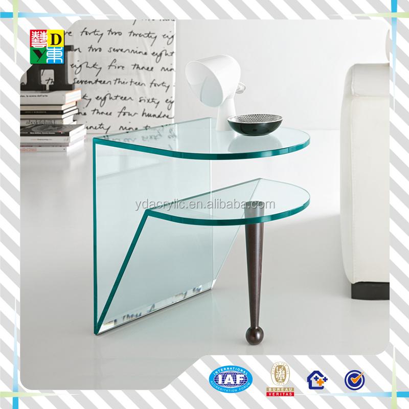 Acrylique table basse avec roues pas cher clear acrylic mobile tables de ch - Table basse acrylique ...