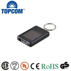 The energy saving Solar led torch with keychain