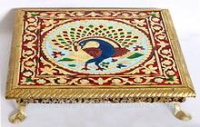 Pequeña mesa de artesanía