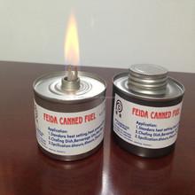 Combustibile di logoramento/sfregamenti carburante piatto/gel combustibile di logoramento