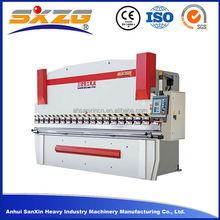 cnc bending machine to bend long sheet, hydraulic press brake machine