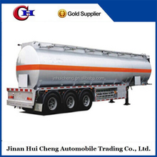 Carbon Steel Water/ Oil / Petrol Transport Fuel Tanker Semi-Trailer