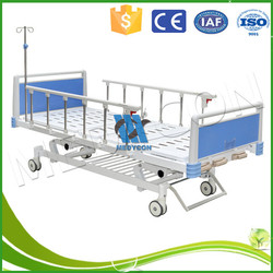 Old Man Home Care Nursing Foldable Three Function Manual Bed