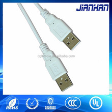 high quality usb male cablewith foil and braid
