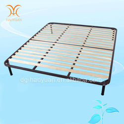 2015 new style Luxury wooden slats bed frame