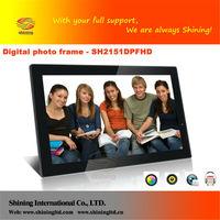 SH2151DPFHD 21 inch LCD Screen electronic digital photo frame
