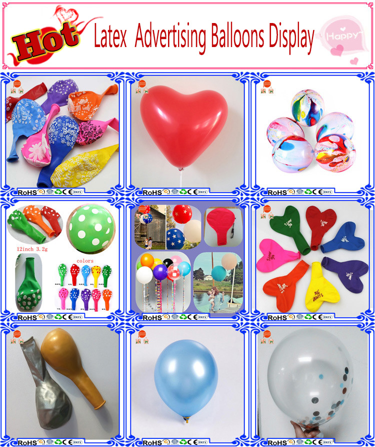Latex Balloons For Party Supplies