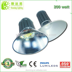 Professional Led Factory Supply! 2015 Latest led high bay 200 watt