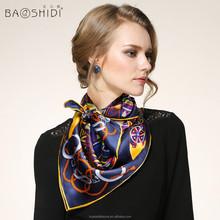 Wholesale silk fashion muslim selendang tudung SIILK SCARF