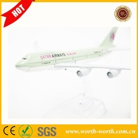 Hot new product for 2015 Qatar Airways airplane model, model airplane for gift