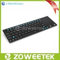 2.4GHz Ultra Slim Wireless Keyboard with Touchpad for Raspberry PI
