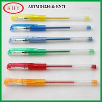 Enviromental Metallic Gel Ink Pen on Discount