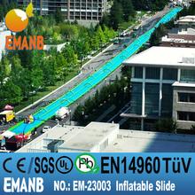 1000 ft slip n slide inflatable slide the city, inflatable slider, inflatable slip n slide