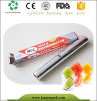 100% Recycled Multi-size Aluminium Foil for Food Wrap