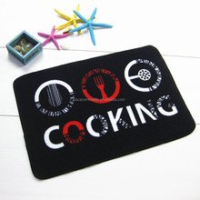 Nylon door mat logo print kitchen mat stock for sale