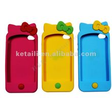 Silicone Phone Case For iphone With Epoxy