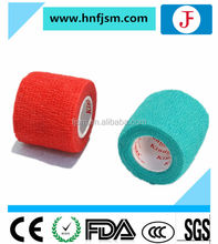 100% cotton sterile 5cm/7.5cm/10cm/15cm/20cm CE ISO elastic waterproof custom printed colored bandage for promotion