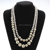 Popular Design Pearl Collar Necklace in South America