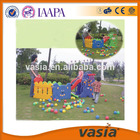 Cerca da ligação chain plástico crianças brincar ao ar livre& interior