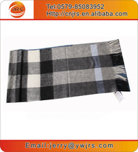 Fashion long knitted handmade thick wool man scarf