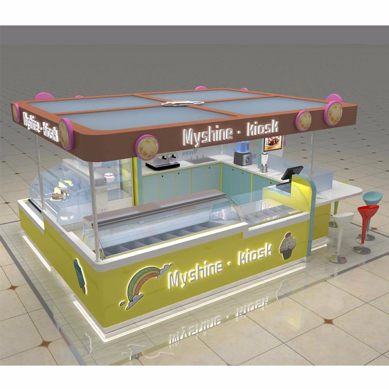 livraison conception center commercial kiosque alimentaire. Black Bedroom Furniture Sets. Home Design Ideas