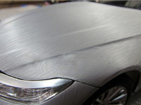 Air bubble free brushed scratch protection film for car with fast shipping