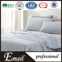 TianZu MUji brand names cotton fabric soft touch bedspread bedding set