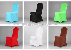 chair covers wedding decoration/ spandex banquet chair cover/cheap wedding chair covers customized