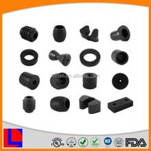 Customized black rubber plugshard rubber block