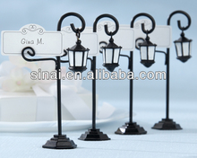 Bourbon Street Streetlight Place Card Holder with Coordinating Place Cards