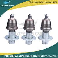 carbide asphalt planning bits / asphalt road milling cutter drill