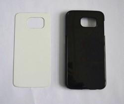 For Samsung Galaxy S6 sublimation case with aluminium plate pc+aluminium sheet DIY blank aluminum phone back case cover