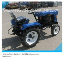 mini 12HP tractor china factory supply 4X2 wheel drive farm tractor, with different farm implements