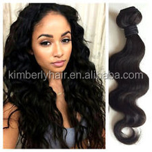 More than 3 pieces share 5% discount virgin human hair extension for black woman body wave 26 inch