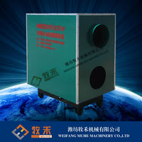 Coal burning air heater for poultry house