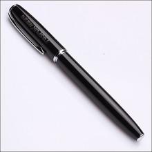 classic black own logo laser atrwork projecter metal roller pen in promotional pens
