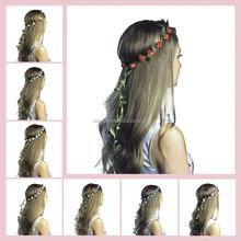 2015 hot sales new fashion high quality cheap flower crown headband H4000