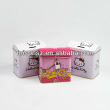 most popular metal tin cans for coin bank