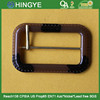 Resin Material Buckle with Gold color Prong For Ladies belt -- BK1543