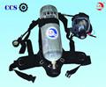 Os bombeiros air aparelho de respiração( scba)