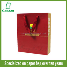 Super quality most popular paper packing with handle bag