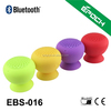 Silicone bluetooth suction cup speaker with built-in rechargeable battery