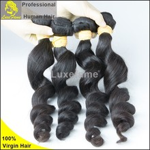 Luxefame Hair 100% virgin indian human hair extension,wholesale remy indian human hair