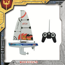 2015 New Arrival beauty appearance rc sailing boat toy with high speed