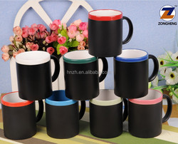 wholesale ceramic chalk gift promotion cup