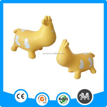 PVC inflatable animal rides cow