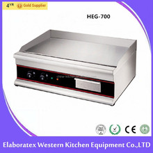 Manufacturer Supply Table Top Stainless Steel Flat Plate Electric Grill / Griddle