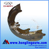T11-3502170 brake shoes China suppliers of Chery qq spare parts Tiggo auto parts